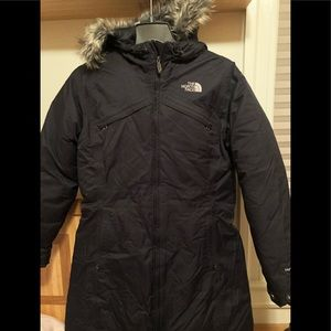 North face Ladies Hyvent Parka size M
